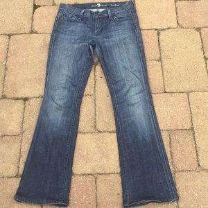 7 For All Mankind A Pocket Jeans 27 x30